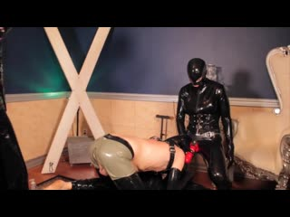 Hollowed out on rubber mistress cocks