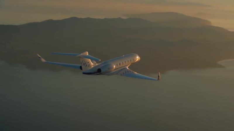 Gulfstream G650 самый топ Мировая деловая бизнес авиация