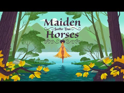 Maiden Swifter than Horses 2D Animation Animated Short by Go Hektik