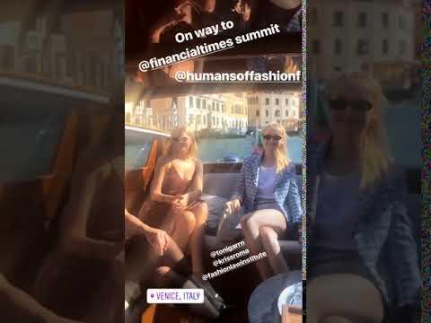 Instagram stories Antoniette Costa