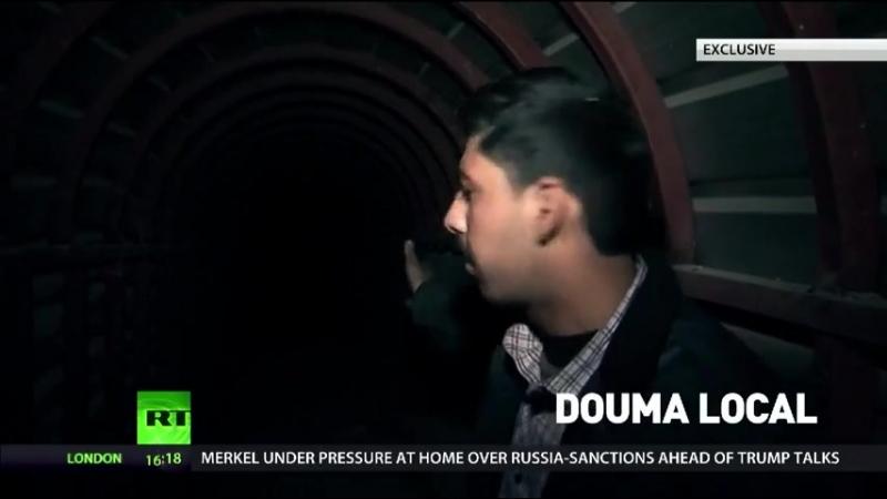 Massive Douma tunnels built by jihadists' slaves
