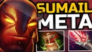 SumaiL Creating a New Meta with Ember Spirit Spirit Vessel Bloodthorn New Item Build Dota 2