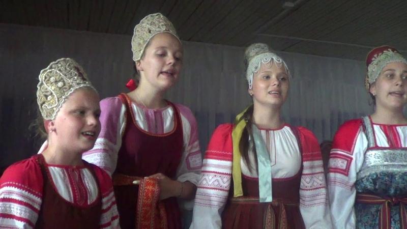 Рудненский каравай Кудесы Фольклорный театр из Новгорода 22 06 2019 4