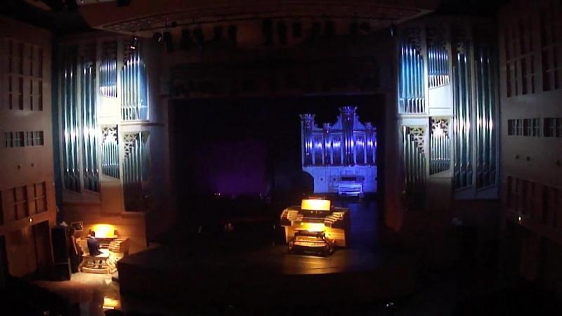 Дворец Искусств г Кондопога Фрагмент гала концерта Орган король музыкальных инструментов и инструмент королей
