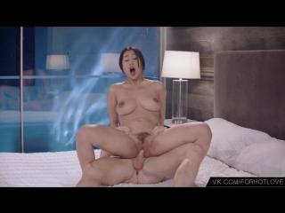 Сексуальная азиатка кончила от кунниллингуса и члена (оргазм, orgasm, cum, sex, asia, johnny sins, jade kush, fuck,)