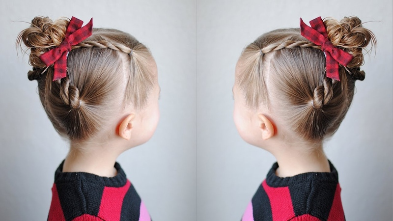 Rope Twisted Top Knot Q's Hairdos