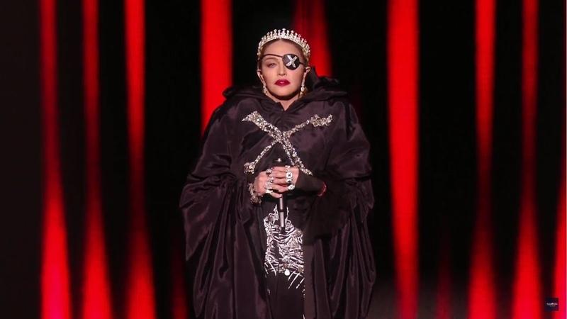Madonna als Antichrist beim Eurovision Song Contest Andeutungen auf Bau des Dritten Tempels