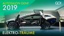 Autosalon Genf 2019 im Elektro-Fieber