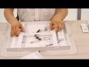 Новинка, светодиодные люстры с пультом Серия GEOMETRIA коллекции DOUBLE_HD.mp4