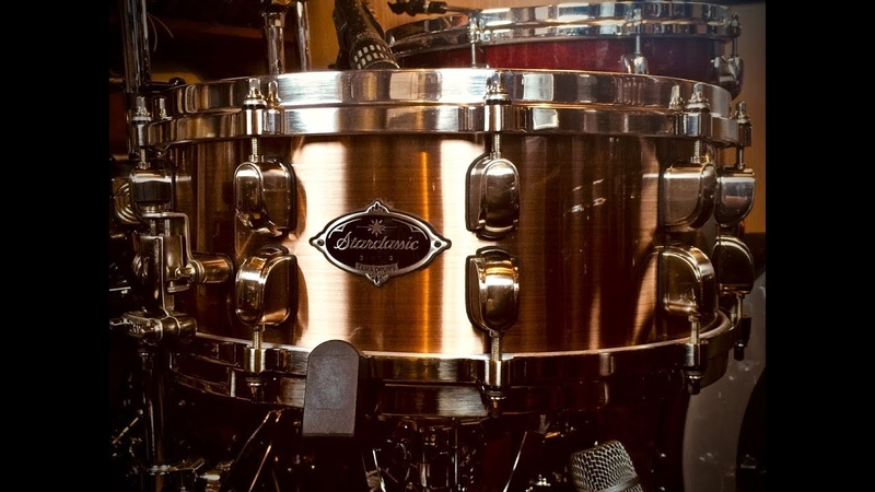 Tama Starclassic Copper 14x5,5 Snare -LOW Tuning-