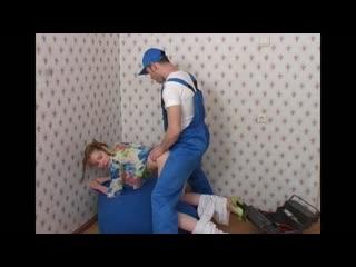 Porntv: russian plumber fucked girl in her house (porno,uniform,retro,tits,ass,cumshot,blowjob,couples,xxx,full,teen,redhead)