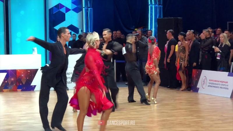 Maxim Zmeev Anna Shestokrilova UZB Samba World Championship Latin 2019