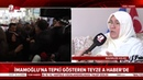 SON DAKİKA Ekrem İmamoğlu'na tepki gösteren teyze A Haber'e konuştu