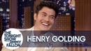 Henry Golding Posed with Emma Thompson's Oscars in Her Bathroom