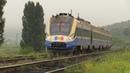 Дизель поезд Д1М 005 на участке Бумбэта Корнешть D1M 005 DMU between Bumbata Cornesti