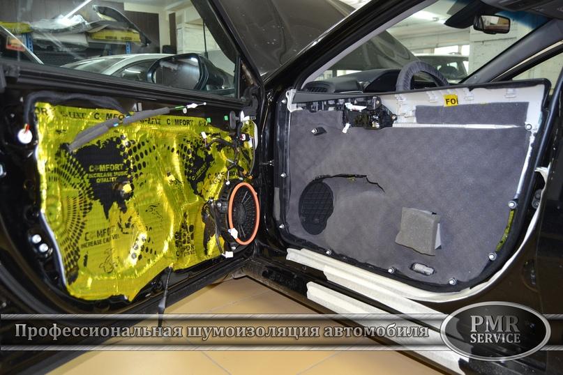 Комплексная шумоизоляция Toyota Camry, изображение №21