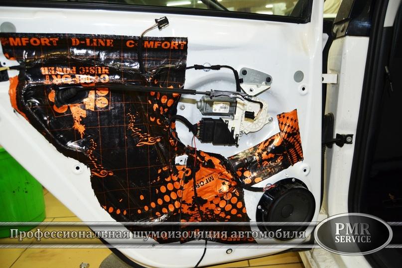 Комплексная шумоизоляция Volkswagen Jetta, изображение №15