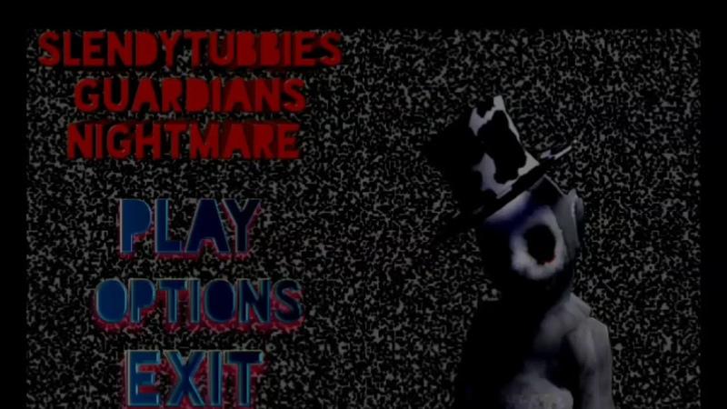 Slendytubbies Guardians Nightmare Test Menu