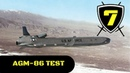 US Air Force - B-52 Bomber AGM-86B Nuclear Air Launched Cruise Missile Test