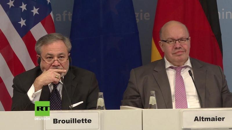 """US Druck nachgegeben Deutschland wird """"ein oder mehrere Flüssigas Terminals bauen"""