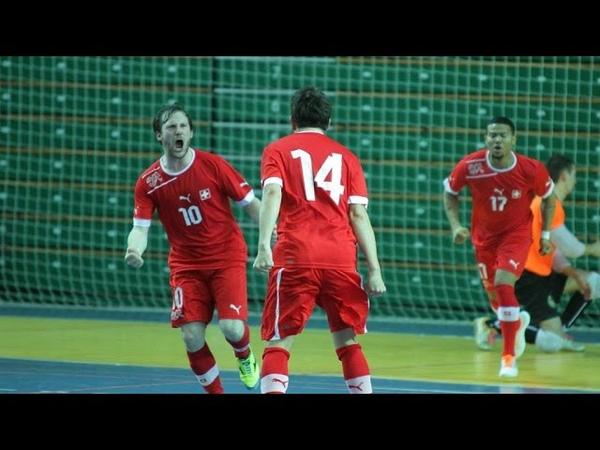 Estija 5:7 Šveicarija: rungtynės UEFA Futsal 2016 atranka 2015 01 17