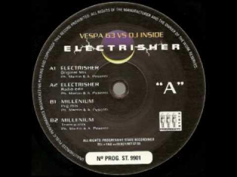 Vespa 63 DJ Inside - Electrisher