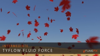 FumeFX and tyFlow Fluid Force