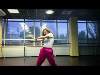 hip hop choreography by Nastya Balioz (O.T. Genesis Dj Esco - bring it out)