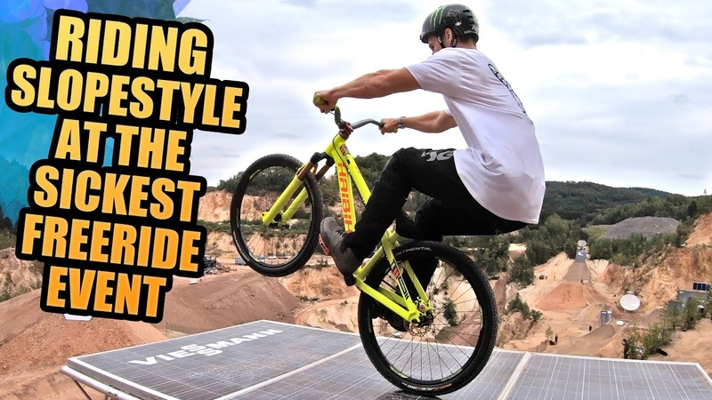 RIDING MTB SLOPESTYLE AT THE SICKEST FREERIDE EVENT