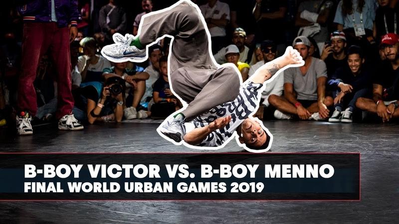 B Boy Victor vs B Boy Menno World Urban Games 2019 Final