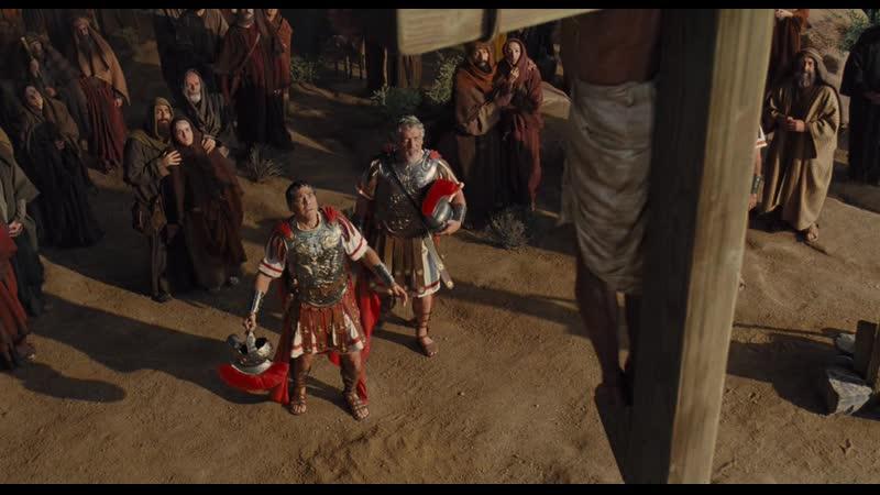 Да здравствует Цезарь 2016 Hail Caesar Ethan Coen Joel Coen Сцена № 3 Кульминация распятие Христа