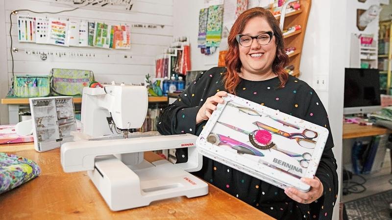 Tula Pink presents the new BERNINA Tula Pink Edition models
