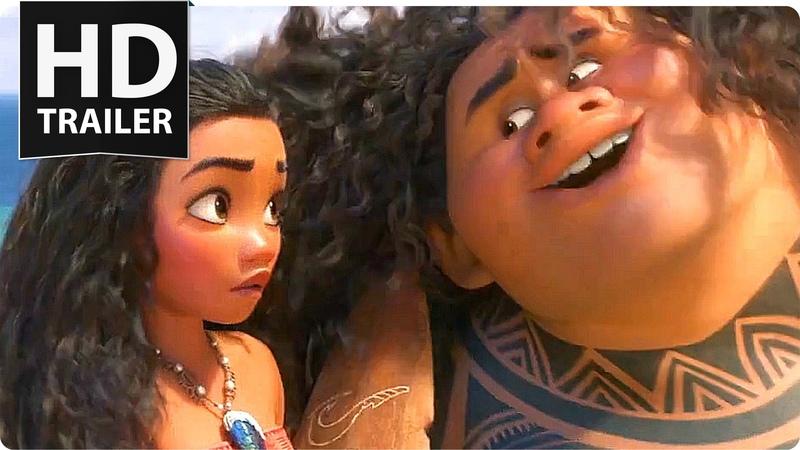 Disney's MOANA 'Maui's Song' Film Clip (2016)