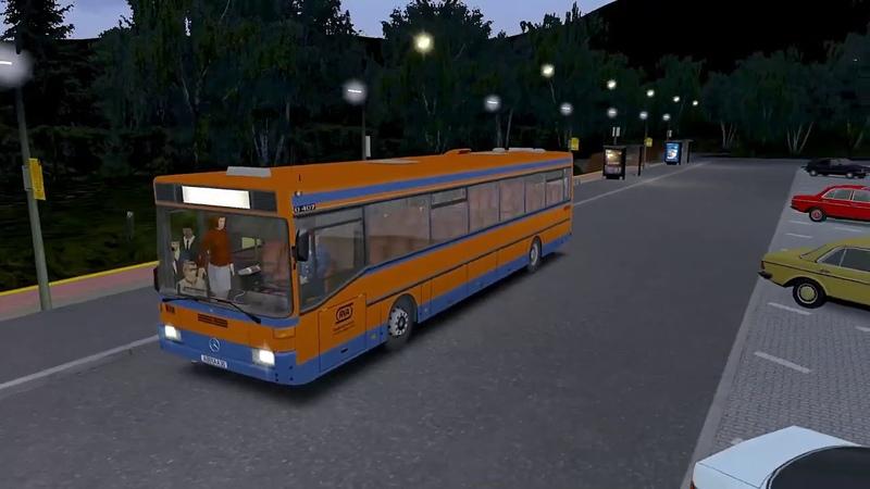 OMSI 2 Могэс маршрут 1. Mercedes-benz O407