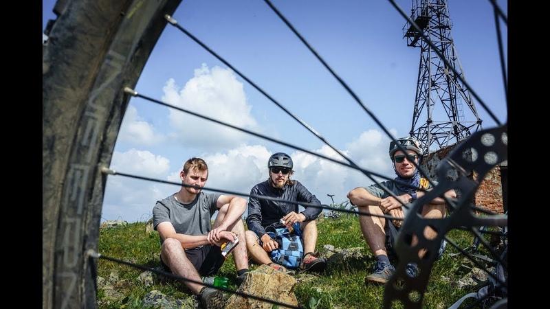 По приисковому на велосипедах Трейлы в PRI 2019