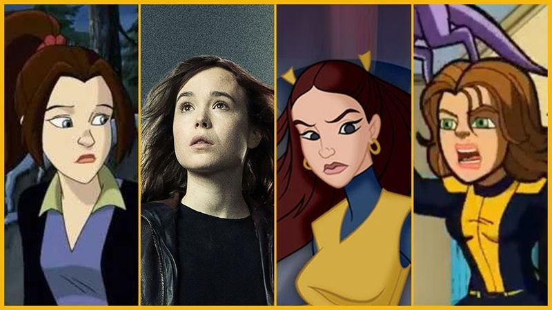 Kitty Pryde (Shadowcat) Evolution in Movies Cartoons (2018)