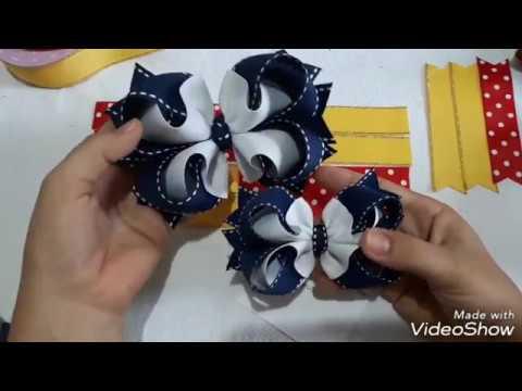 Laço gorgurão boutique bambolê na fita n5 (passo a passo) - Poly Formozo