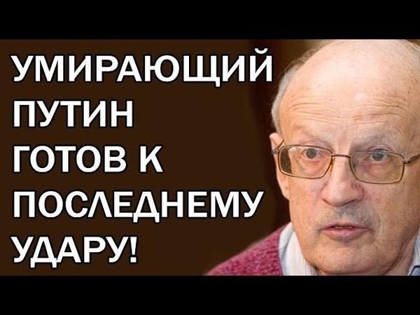 Кроты в коридорах Кремля раскрыли секретный замысел Путина! Андрей Пионтковский