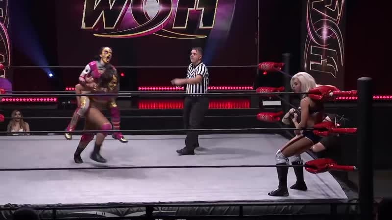 Women of Honor Twisted Sisterz vs Samantha Heights Ray Lyn