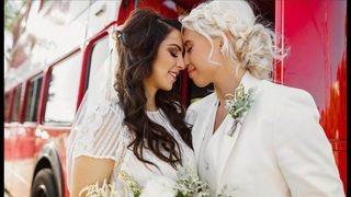 LESBIAN WEDDING - Wedding photography behind the scenes