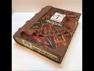 """Как сделать торт """"Книга"""". / Наша группа в ВК: """"ULTRACAKES""""."""