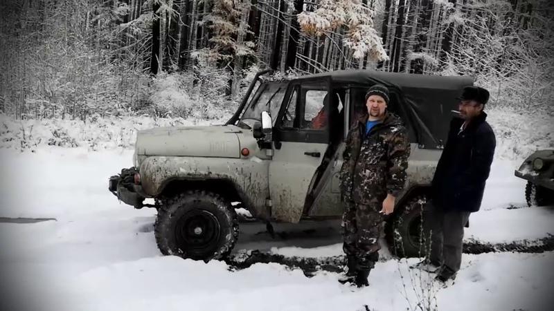 Первый мини тест Nissan Patrol Y60 TD42