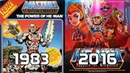Evolution of Masters of the Universe Games 1983-2016