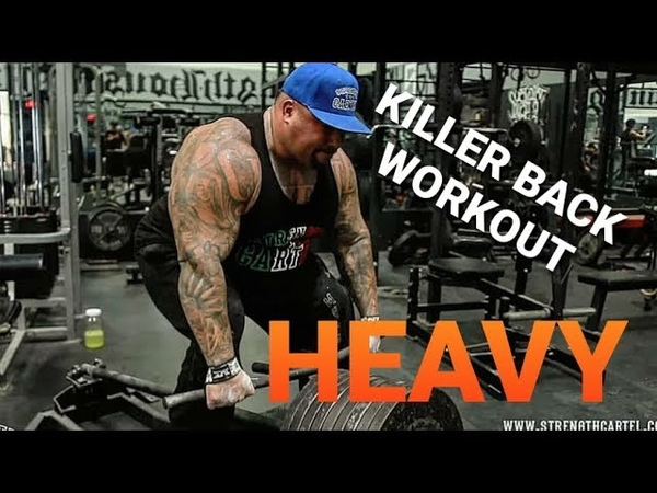 HAVING the right MINDSET when going for a BIG PR | HEAVY DEADLIFTING AND T-BAR ROWS