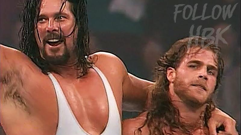 Shawn Michaels vs. King Kong Bundy w/Ted DiBiase, Bam Bam Bigelow Diesel (May 22, 1995)