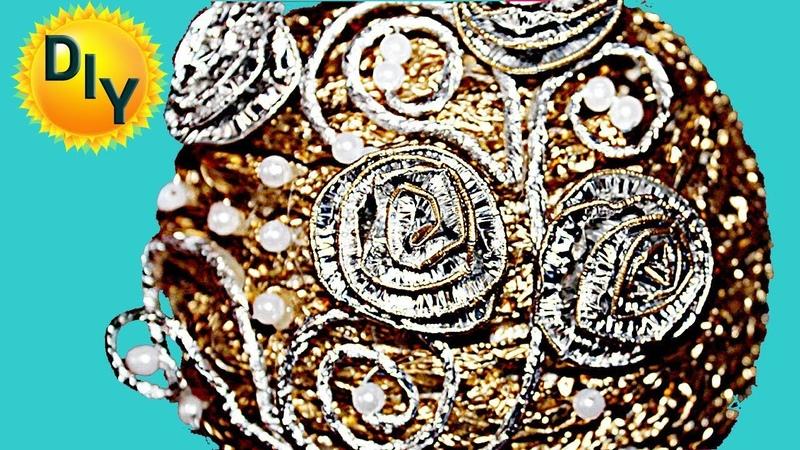 Серебряный топиарий своими руками на канале DIY/рукоделие