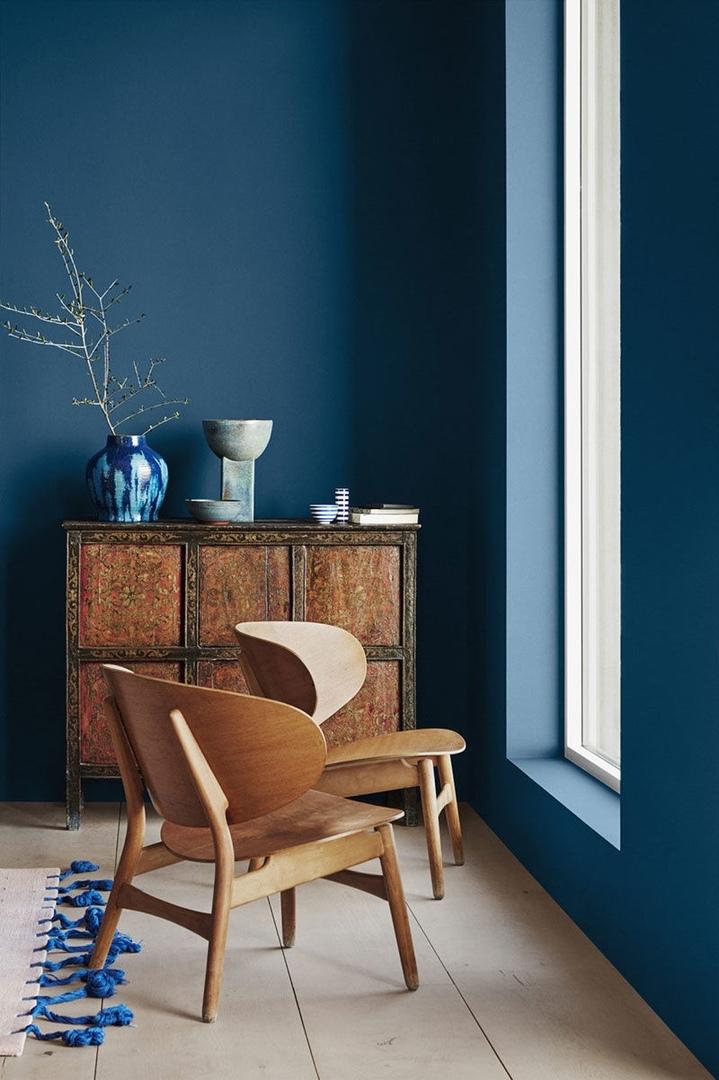 Цветные удовольствия: модные оттенки новой коллекции интерьерных красок от Jotun