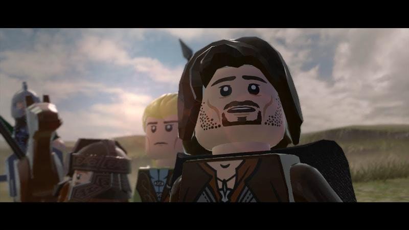 [LEGO® The Lord of the Rings™] Прохождение \ Часть 9- По следам хоббитов