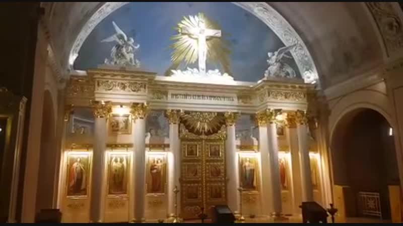 Аксион эстин 1пл глас храм мученицы Татьяны при МГУ