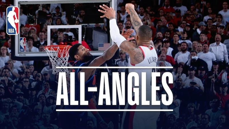 ALL-ANGLES | Damian Lillard's AMAZING Game-Winner! NBANews NBA NBAPlayoffs Blazers DamianLillard